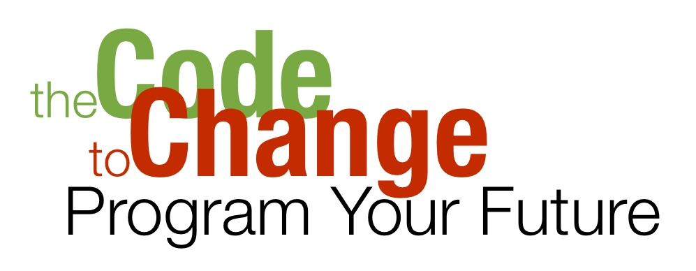 thecodetochange conference logo