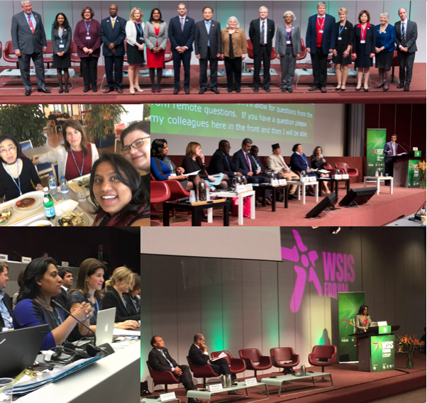 Collage WSIS 2016